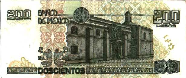 Billete de 200 pesos Mexico