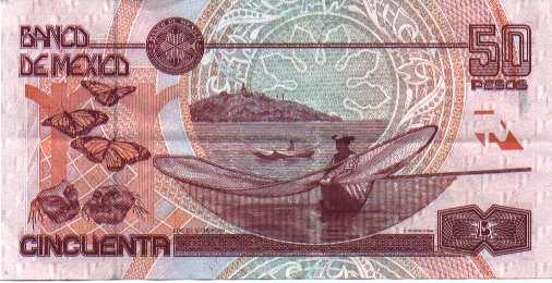 Billete de 50 pesos Mexico
